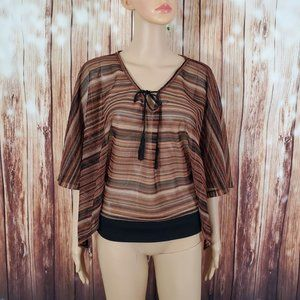 Anthropologie Sanctuary Blouse S Sheer